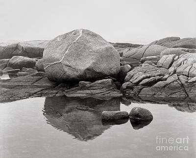 Beaches And Waves Rights Managed Images - Erratic #26 Royalty-Free Image by Lionel F Stevenson