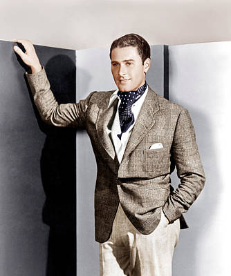 Ev-in Photograph - Errol Flynn, Ca. 1930s by Everett