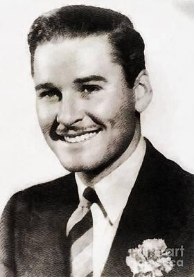 Flynn Painting - Errol Flynn, Vintage Actor by John Springfield