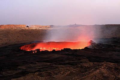 Photograph - Erta Ale Volcano by Aidan Moran