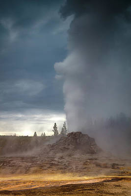 Yellowstone Photograph - Eruption by Edgars Erglis