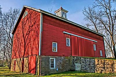 Northeast Philly Photograph - Erwin Stover Barn by DJ Florek