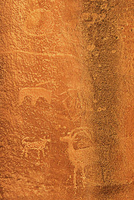 Photograph - Escalante Canyon Rock Art by Alan Vance Ley