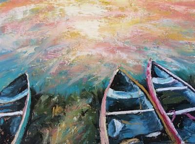 Escalante Canyon Sunrise Art Print