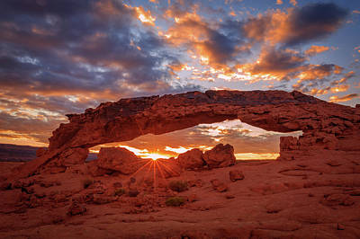 Photograph - Escalante Sunset by Johnny Adolphson