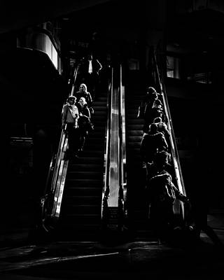 Photograph - Escalator No 1 by Brian Carson