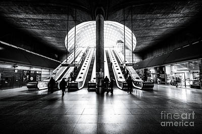 Photograph - Escalators To Heaven by Giuseppe Torre