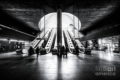Photograph - Escalators To Heaven by Giuseppe Torre