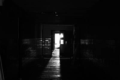 Abandoned Insane Asylum Photograph - Escape Also by Kreddible Trout