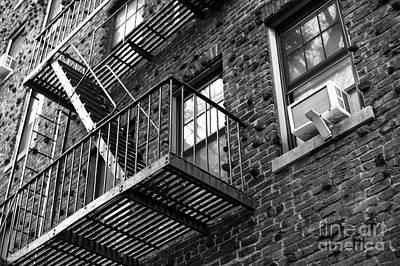 Nyc Fire Escapes Photograph - Escape Angles by John Rizzuto