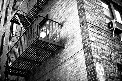 Photograph - Escape From 6th Street by John Rizzuto