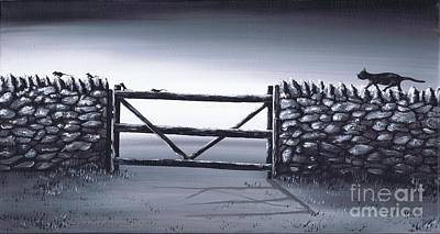 Painting - Escape Plan by Kenneth Clarke