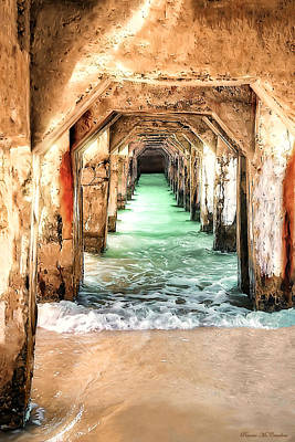 Photograph - Escape To Atlantis by Pennie  McCracken