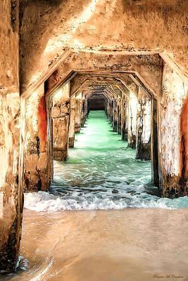 Escape To Atlantis Art Print