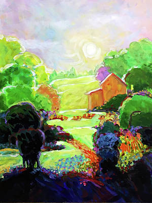 Wall Art - Painting - Escape To The Hideaway by Charles Wallis