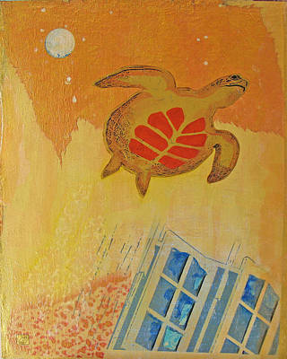 Escape Velocity 1 Art Print by Susan Gertz