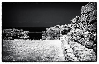 Paphos Photograph - Escape Wall by John Rizzuto