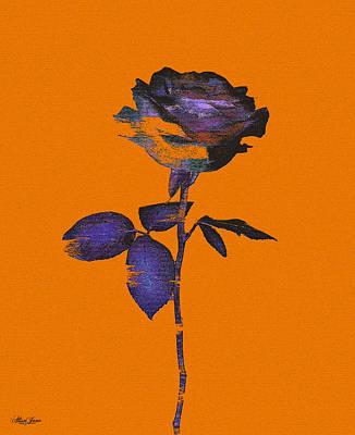Digital Art - Enhancing The Ordinary -in Orange by Alisa Jane