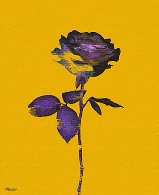 Digital Art - Enhancing The Ordinary - In Yellow by Alisa Jane