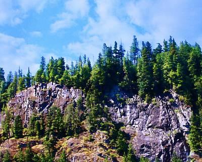 Photograph - Escarpment 2 by Timothy Bulone