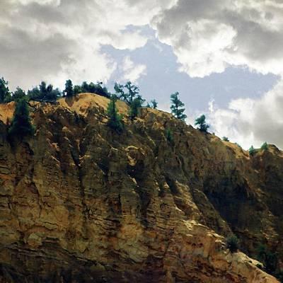 Photograph - Escarpment 3 by Timothy Bulone