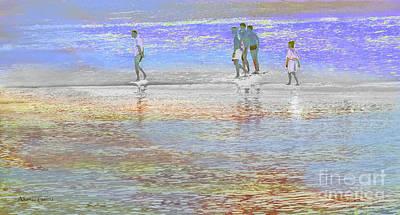 Photograph - Escena De Playa by Alfonso Garcia