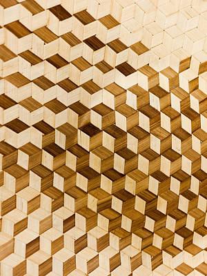 Escher Photograph - Escher-esque Basketweave by Hakon Soreide