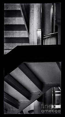 Photograph - Escher Stairs by James Aiken