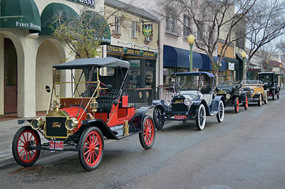 Photograph - Escondido Street Scene by Bill Dutting