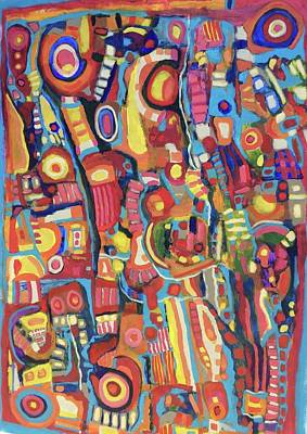 Painting - Escondidos # 10--sold by Jeffrey Davies
