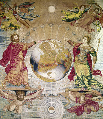Photograph - Escorial: Tapestry by Granger