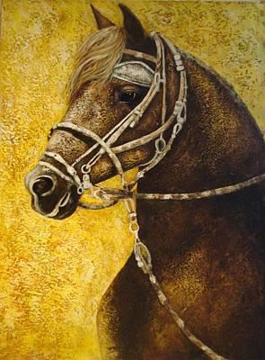 Peruvian Horse Painting - Esencia Peru by Daniella Arteaga Vallarino Artist