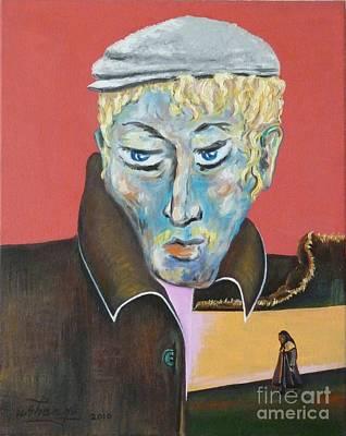 Painting - Esenin by Ushangi Kumelashvili