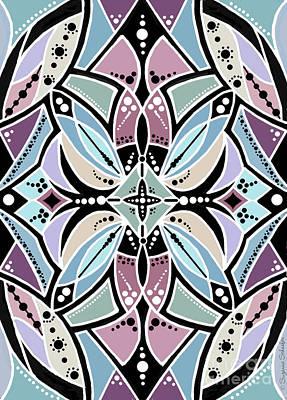 Digital Art - Design 218 B by Suzanne Schaefer