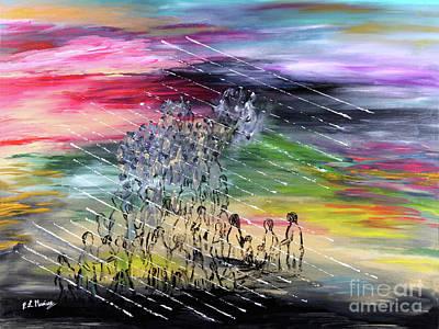 Painting - Esodo by Loredana Messina