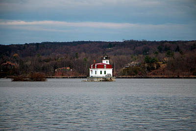 Photograph - Esopus Lighthouse In Early December by Jeff Severson