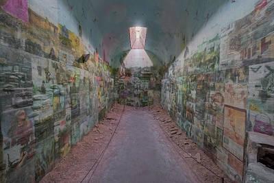 Photograph - Esp Artist Installation by Tom Singleton
