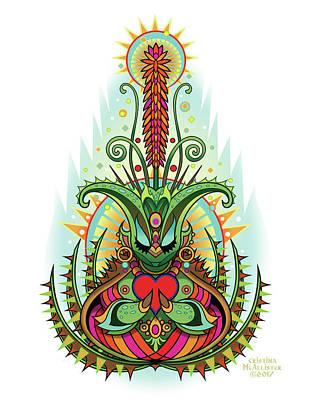 Spirit Guides Wall Art - Digital Art - Espiritu 5  by Cristina McAllister
