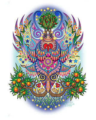 Espiritu - Mu Art Print