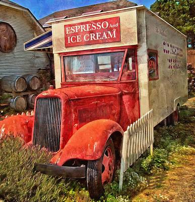 Photograph - Espresso And Ice Cream by Thom Zehrfeld