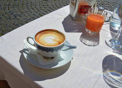 Photograph - Espresso And Milk by JAMART Photography