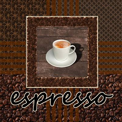 Espresso - Coffee Art Print by Anastasiya Malakhova