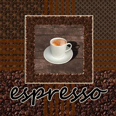 Photograph - Espresso - Coffee Art by Anastasiya Malakhova