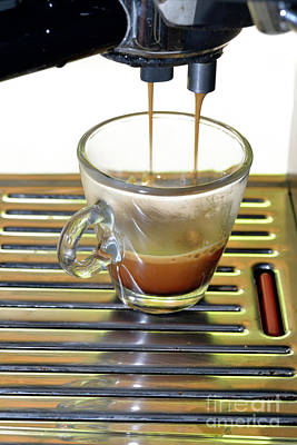 Photograph - Espresso Coffee by George Atsametakis