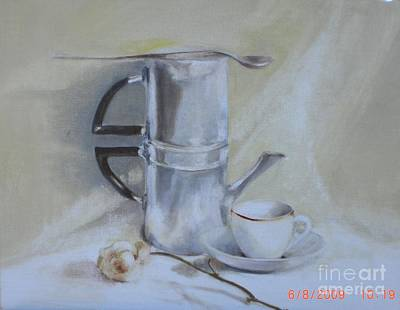 Espresso For One          Copyrighted Print by Kathleen Hoekstra