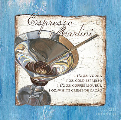 Liquid Painting - Espresso Martini by Debbie DeWitt