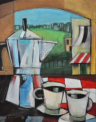 Painting - Espresso My Love by Tim Nyberg