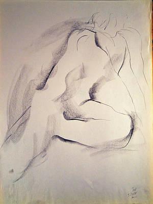 Drawing - Esq 2015-10-02-03 by Jean-Marc Robert