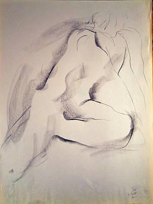 Drawing - Esq 2015-10-02-04 by Jean-Marc Robert
