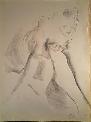 Drawing - Esq 2015-10-02-05 by Jean-Marc Robert